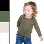 BabyBugz - Organic Baby Langarmshirt 'Envelope Neck'
