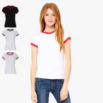 Bella - Ladies Retro Ringer T-Shirt