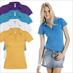 B&C - Ladies Poloshirt 'Love Spice'