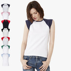 Bella - Retro Baseball T-Shirt mit kurzen Armen