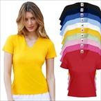Fruit of the Loom - Damen T-Shirt 'Lady Fit V-Neck'
