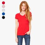 Bella+Canvas - Ladies T-Shirt mit V-Ausschnitt