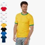 Fruit of the Loom - Kontrast T-Shirt 'Ringer T'