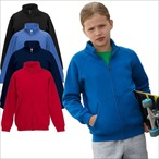 Fruit of the Loom - Premium Kinder Sweatjacke 'Kids Sweat Jaket'