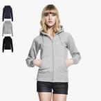 Continental - Women's Zip-Through Hooded