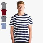 Mantis - Men's Retro Streifen-T-Shirt