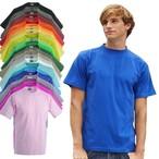 James & Nicholson - Men's T- Shirt 'Round-T-Heavy' - bis 5XL