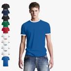 Clique - Kontrast T-Shirt 'Nome'