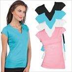 Sols - Women's Cap Sleeve Tee Shirt Mint