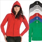 B&C - Ladies Kapuzenjacke 'Women Hooded Full Zip'