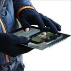 Myrtle Beach - Microfleece Handschuhe zur Bedienung von Touchscreen Oberflächen