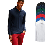 Fruit of the Loom - Premium Longsleeve Poloshirt