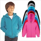 Fruit of the Loom - Classic Kinder Kapuzen- Sweatjacke 'Kids Hooded Sweat Jacket'