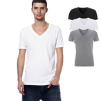 EarthPositive - Men's Organic V-Neck T-Shirt