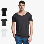 Continental - Men's Bamboo Wide Neck T-Shirt