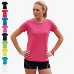 Fruit of the Loom - Lady-Fit Funktionsshirt 'Performance T'