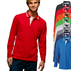 James & Nicholson - Longsleeve Poloshirt
