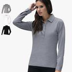 Skinnifit -  Ladies Langarm Stretch - Poloshirt
