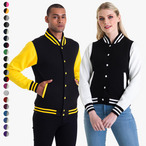 Just Hoods - Unisex College Jacke 'Varsity Jacket'