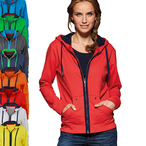 James & Nicholson - Ladies Urban Sweatjacke