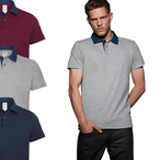 B&C - Herren Poloshirt 'Denim Forward'