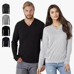 Canvas - Unisex V-Neck Lightweight Sweater