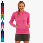 Fruit of the Loom - Lady-Fit Lightweight Hooded Sweat
