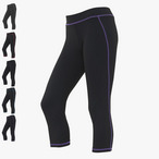 Just Cool - Damen Sporthose 'Cool Capri'