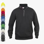 Clique - Basic Half-Zip Sweatshirt