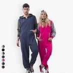 Comfy Co - Unisex Contrast Jumpsuit