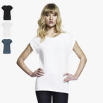 Continental - Women's Bamboo Rolled Sleeve T-Shirt