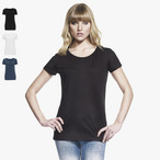 Continental - Women's  Bamboo Open Neck T-Shirt