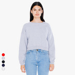 American Apparel - California Fleece Cropped Sweatshirt