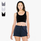 American Apparel - Cotton Spandex Tank Crop Top
