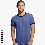 Anvil - Leichtes Ringer T-Shirt für Herren