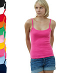 Fruit of the Loom - Spaghettiträger-Top 'Lady-Fit Strap T'