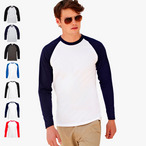 Fruit of the Loom - Kontrast Langarmshirt 'Longsleeve Baseball T'