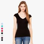 Bella+Canvas - Tori - leichtes T-Shirt mit V-Ausschnitt
