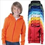 Hanes - Kinder Kapuzen Sweatjacke 'Kids Hooded Zip'