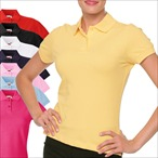 Fruit of the Loom - Damen Poloshirt 'Lady-Fit Polo'