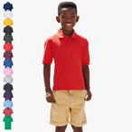 Fruit of the Loom - Kinder Poloshirt Mischgewebe 'Kids 65/35 Polo'