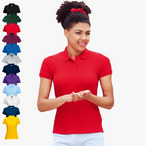 Fruit of the Loom - Lady-Fit Poloshirt Mischgewebe '65/35 Polo'