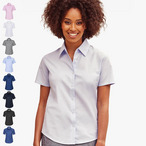 Russell - Ladies Oxford Bluse '933F' - bis Gr. 6XL