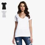 Continental - Damen T-Shirt mit tiefem V-Ausschnitt
