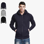 Continental - Men's Zip-Through Hooded Sweatjacke