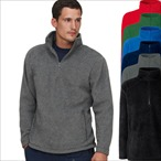 Fruit of the Loom - Half-Zip Fleecepullover