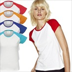 Sols - Women´s Raglan Colour-T Milky