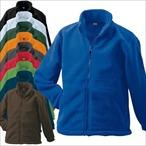 James & Nicholson - Full-Zip-Fleece Jacke