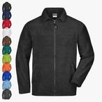 James & Nicholson - Full-Zip-Fleece Jacke bis 4XL