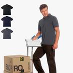 B&C - Workwear Blended Poloshirt mit Tasche 'Energy Pro'